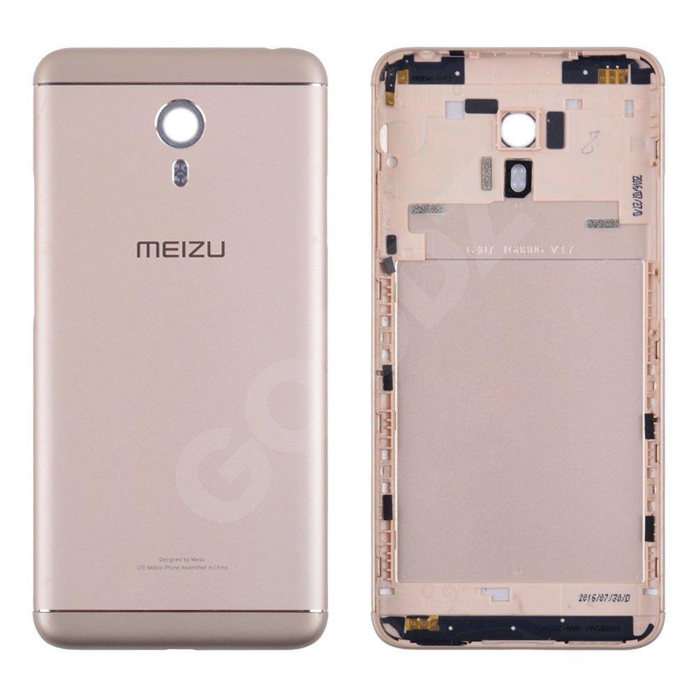 Задняя крышка для Meizu M3 Note (версия М), цвет золотой