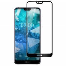 3D Защитное стекло для Nokia 7.1 TA-1100, TA-1097, TA-1085, TA-1095, TA-1096, Nokia 7.1 Plus черное