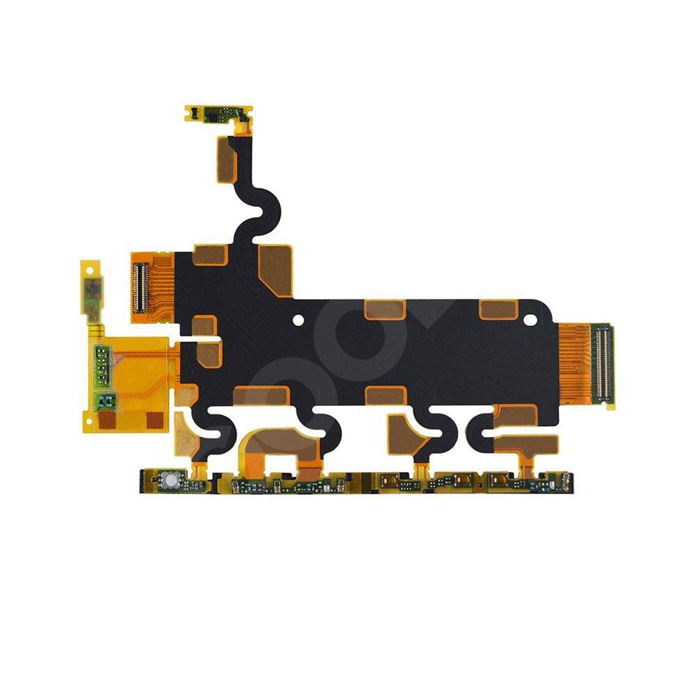 Шлейф для Sony Xperia Z1 C6902, L39h, C6903, C6906, C6943 главной платы с кнопкой включения и боковыми