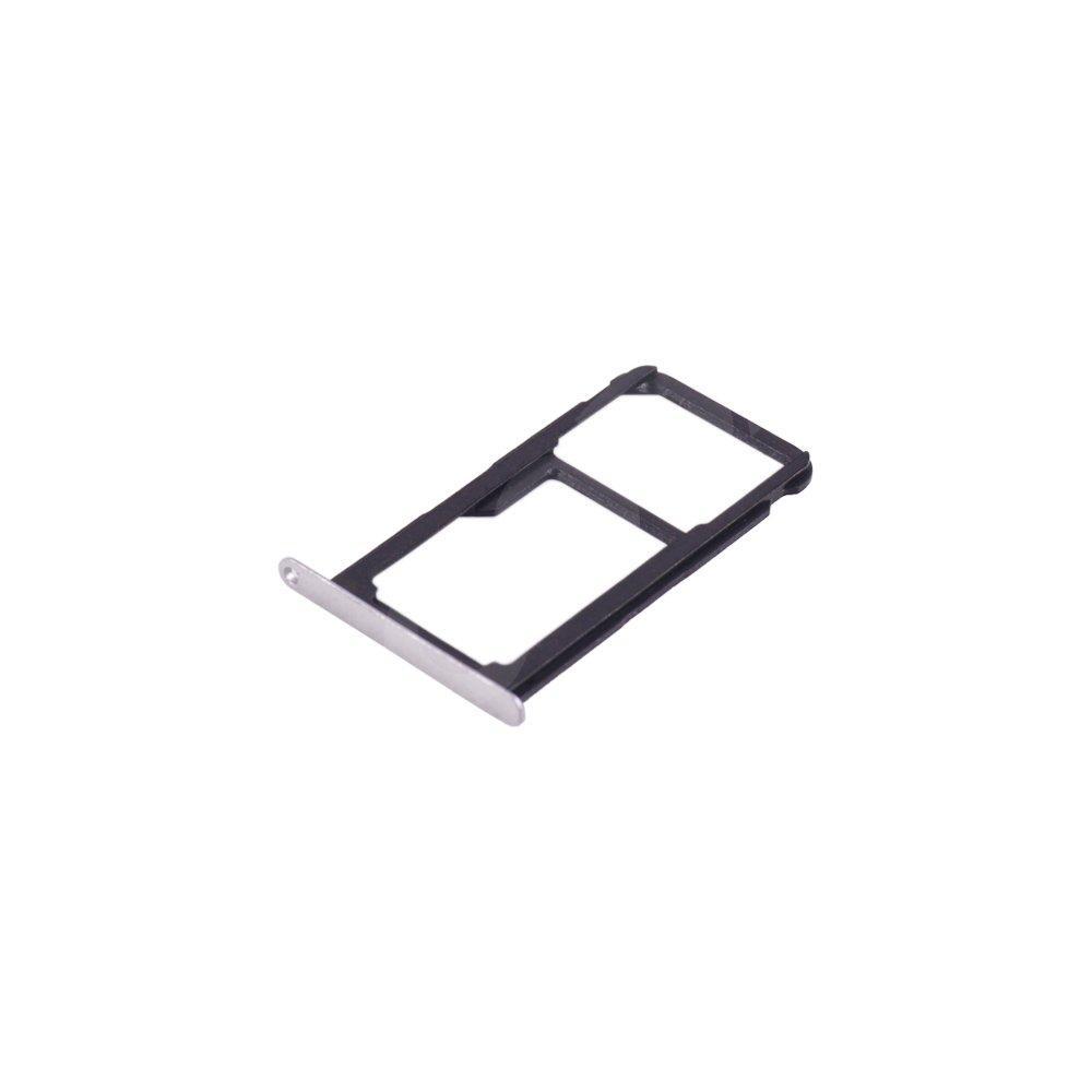 Держатель сим карты Huawei P10 Lite, цвет серебро