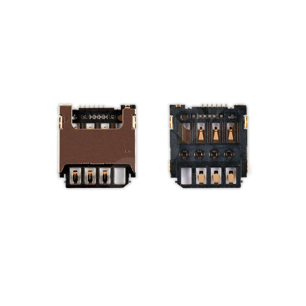 Разъем сим карты Samsung G130E, G313H, G313HN, G313HU, S7390