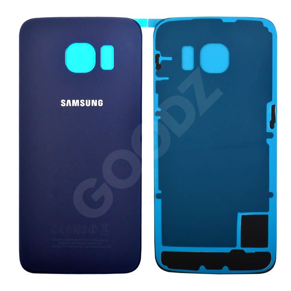Задняя крышка для Samsung G925F, цвет синий, оригинал