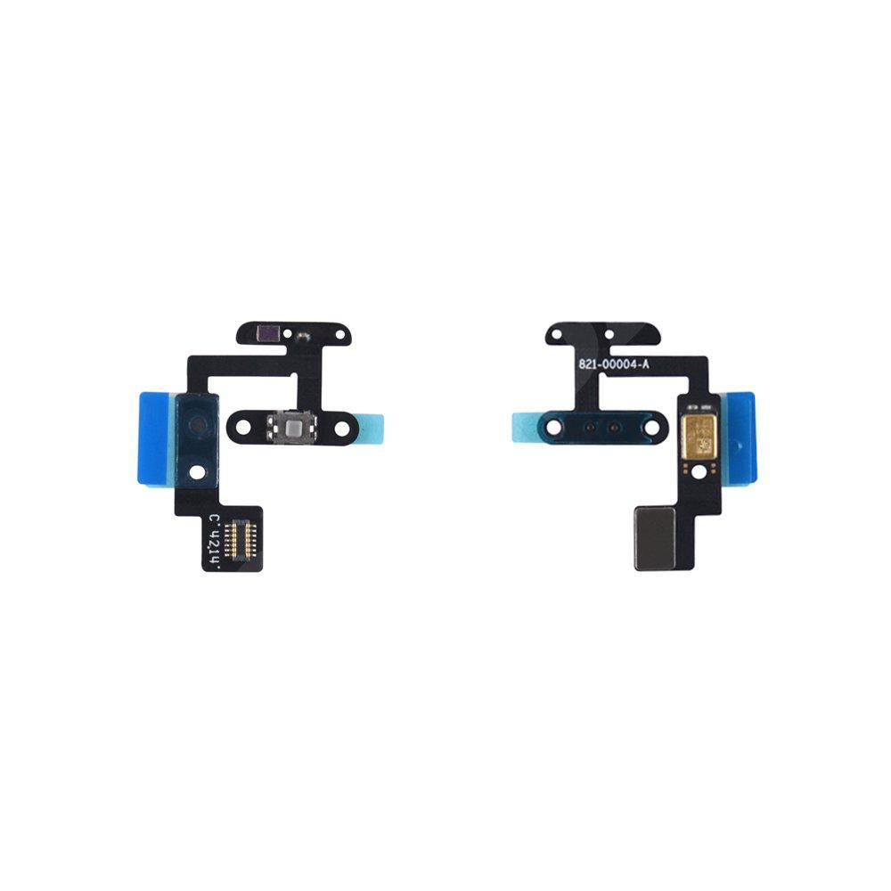 Шлейф кнопки включения с датчиком освещенности и микрофоном для Ipad 6 Air 2