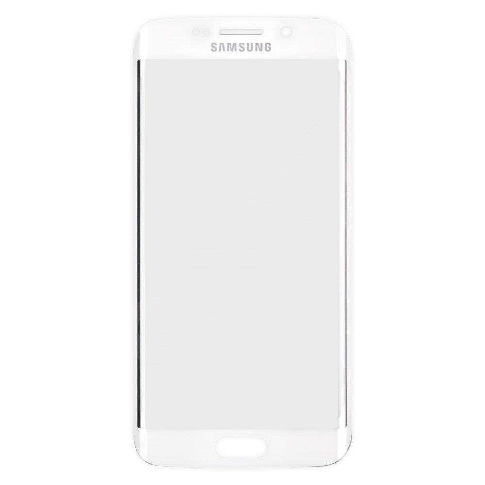 Стекло корпуса для Samsung Galaxy S6 Edge G925, цвет белый