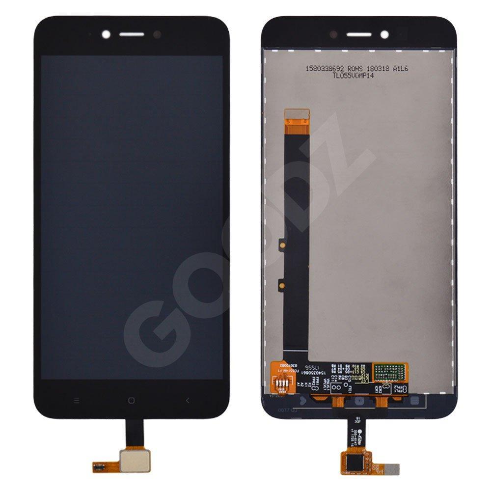 Дисплей Xiaomi Redmi Note 5A, Y1 Lite с тачскрином в сборе, цвет черный