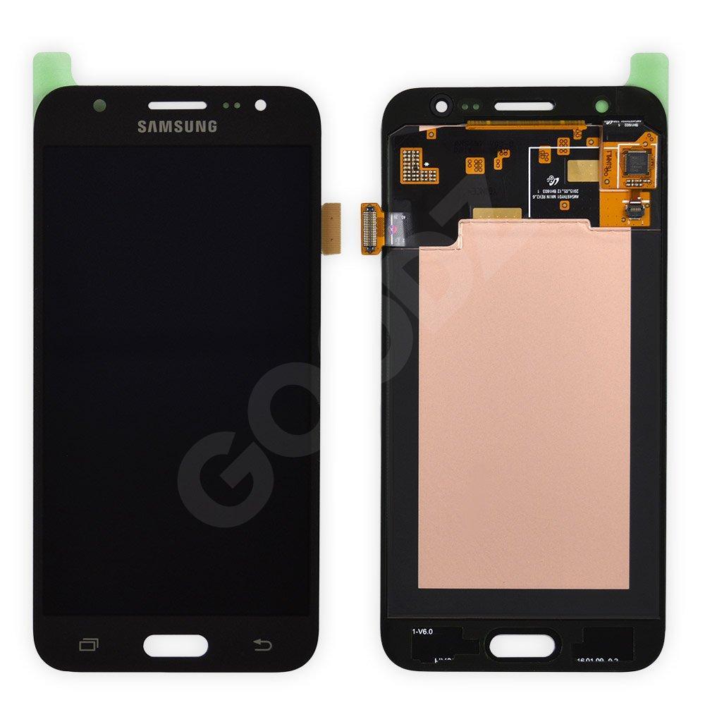 Дисплей Samsung Galaxy J5 J500F, J500M с тачскрином в сборе, цвет черный, сервисный оригинал