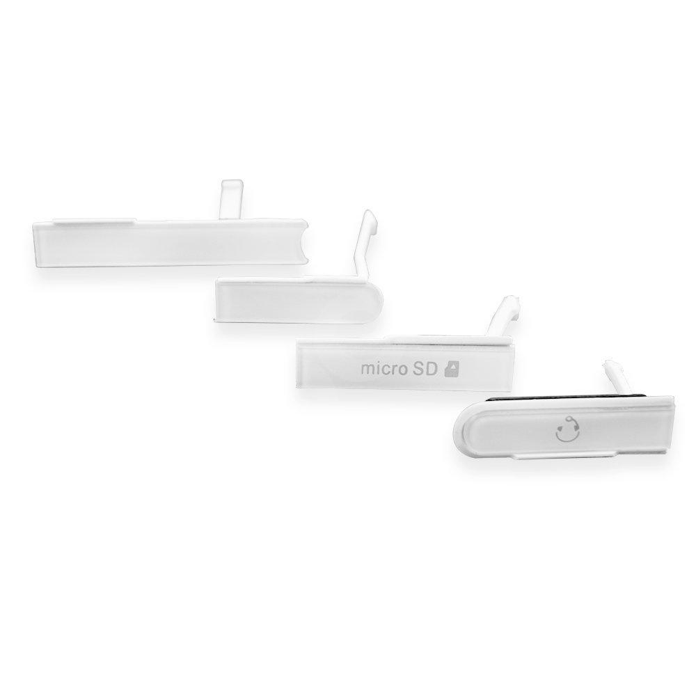 Боковая заглушка Sony C6602, C6603, C6606 Xperia Z L36h, цвет белый