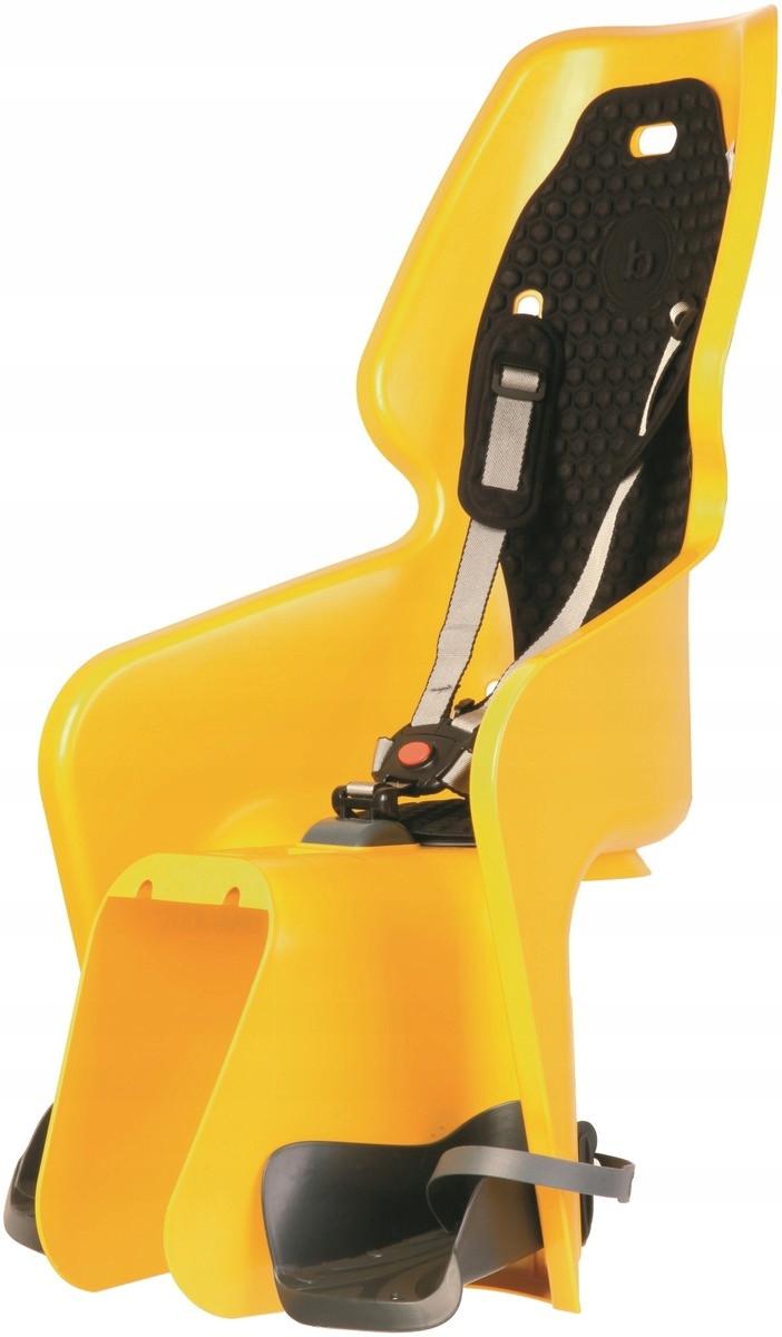 Велокресло Bellelli LOTUS Италия clamp на багажник желтый