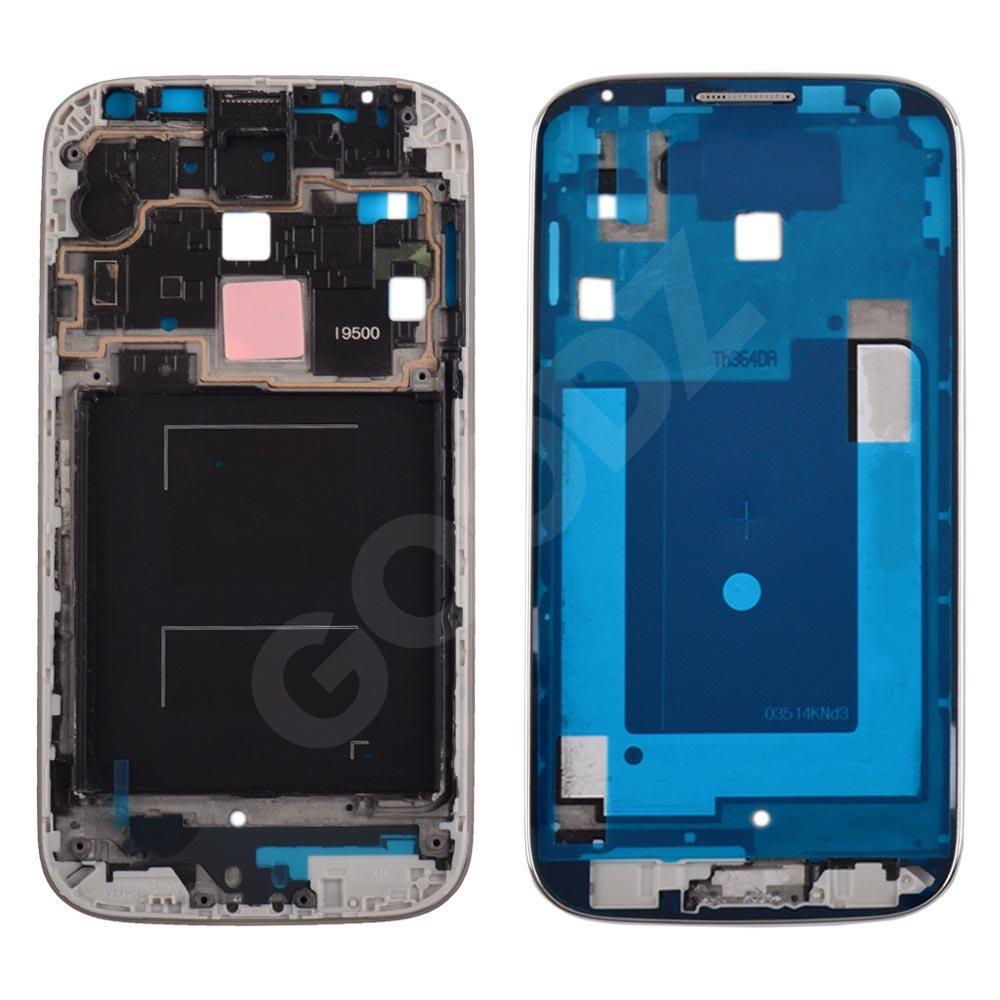 Рамка дисплея для Samsung I9500 Galaxy S4, цвет серебро