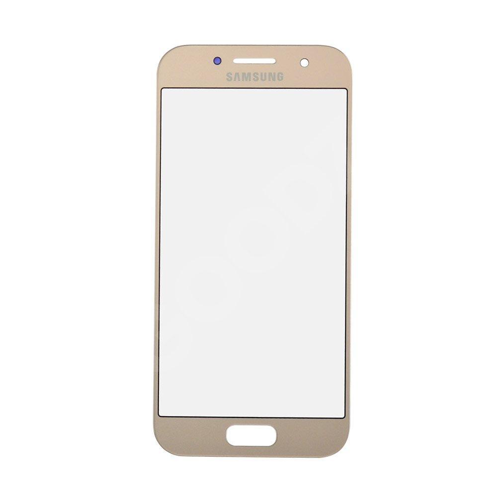 Стекло корпуса для Samsung Galaxy A3 A320F (2017), цвет золотой