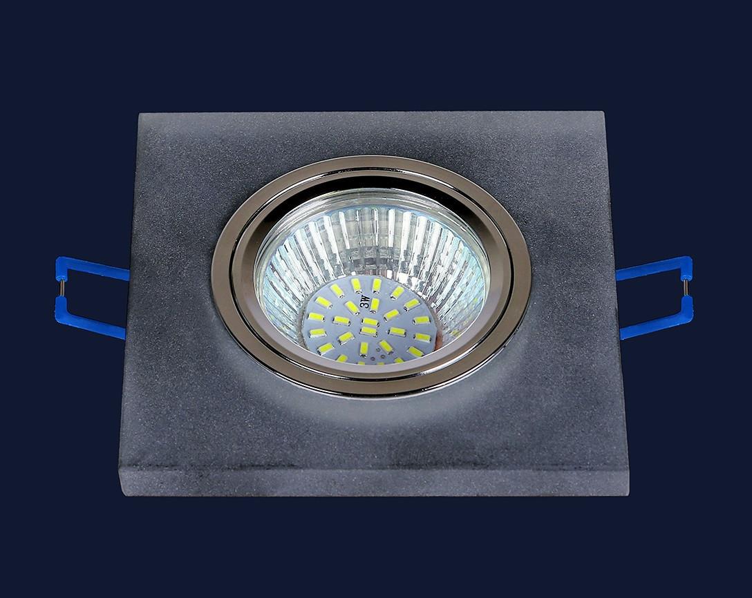 Точечный светильник 043 bk matt