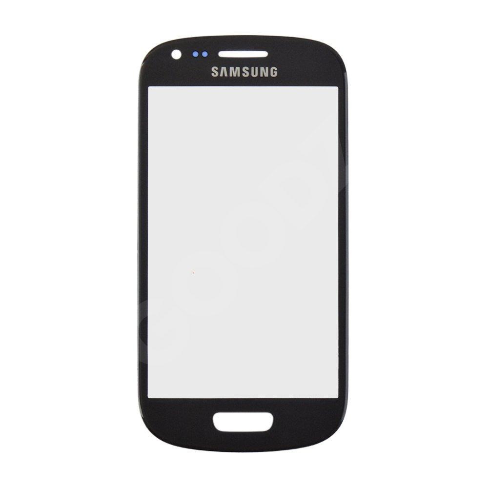 Стекло корпуса для Samsung i8190 Galaxy S3 mini, цвет серый