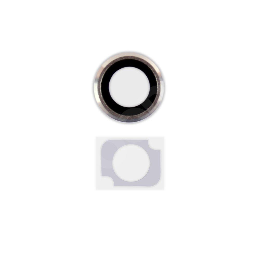 Набор для iPhone 6 (4.7) стекла внешней камеры и фотовспышки, цвет серый