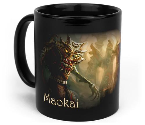 Кружка чашка Maokai League of Legends