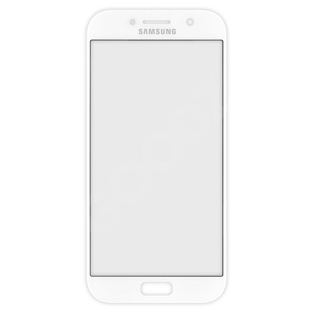 Стекло корпуса для Samsung Galaxy A520 (2017), цвет белый