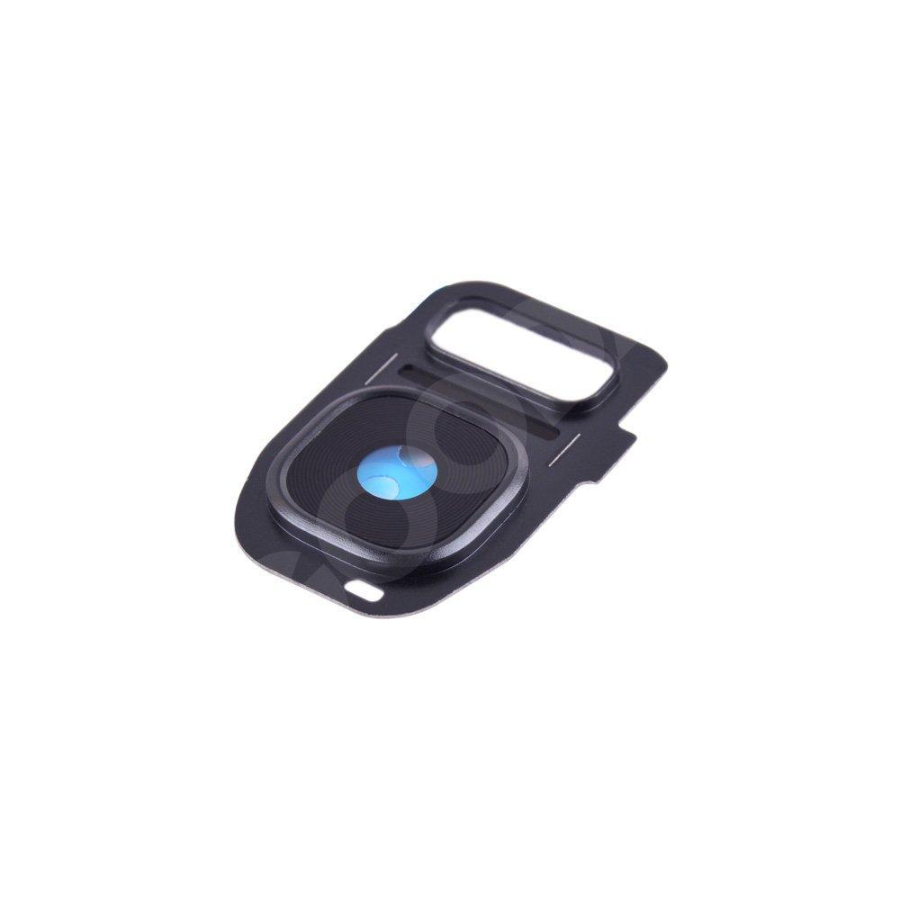 Стекло камеры для Samsung G930F, G930FD/DS Galaxy S7 (2016), цвет черный