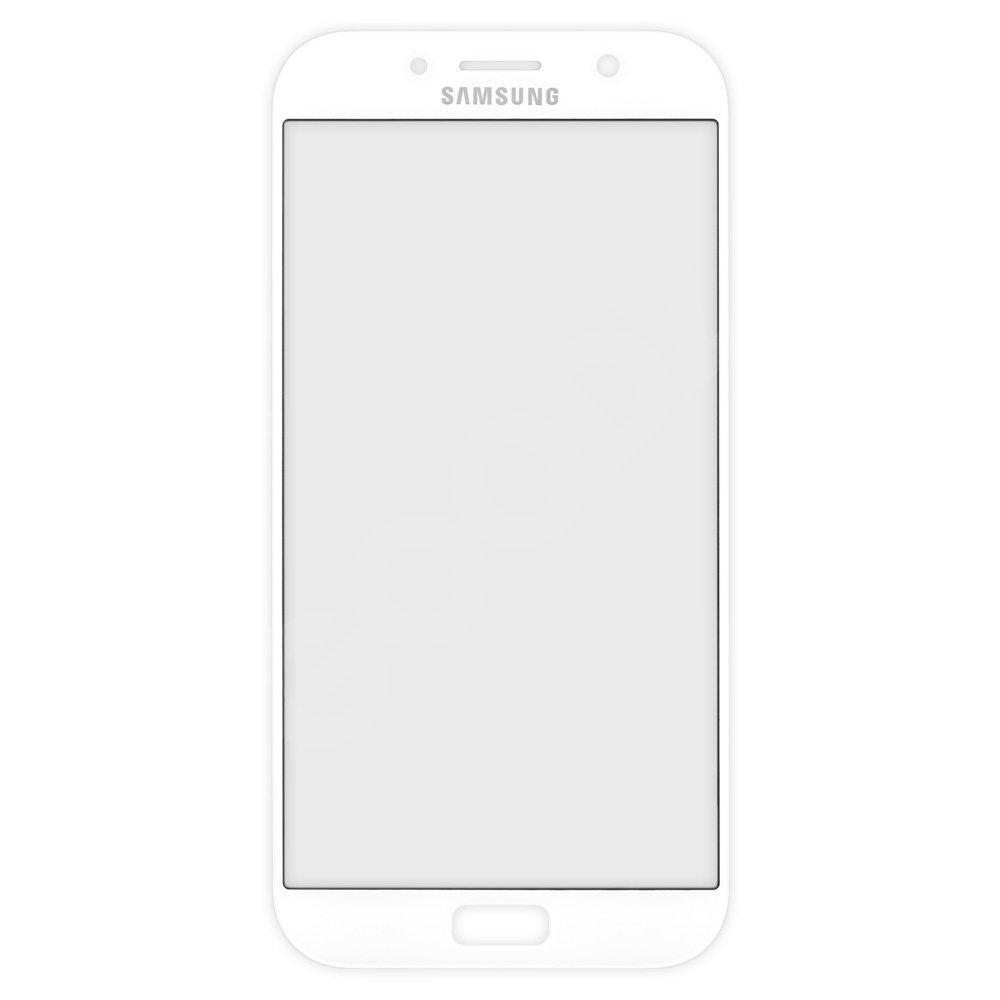 Стекло корпуса для Samsung A720 Galaxy A7 (2017), цвет белый