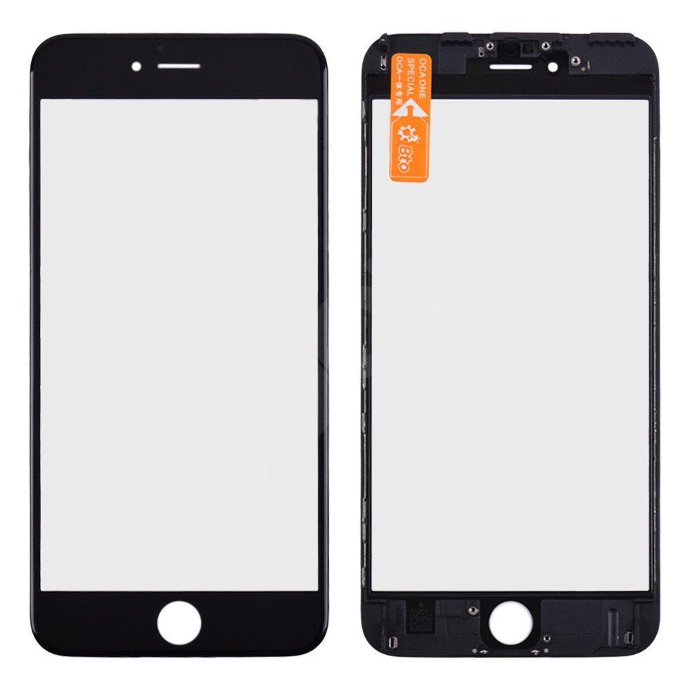 Стекло корпуса с рамкой и OCA для iPhone 6S Plus, цвет черный