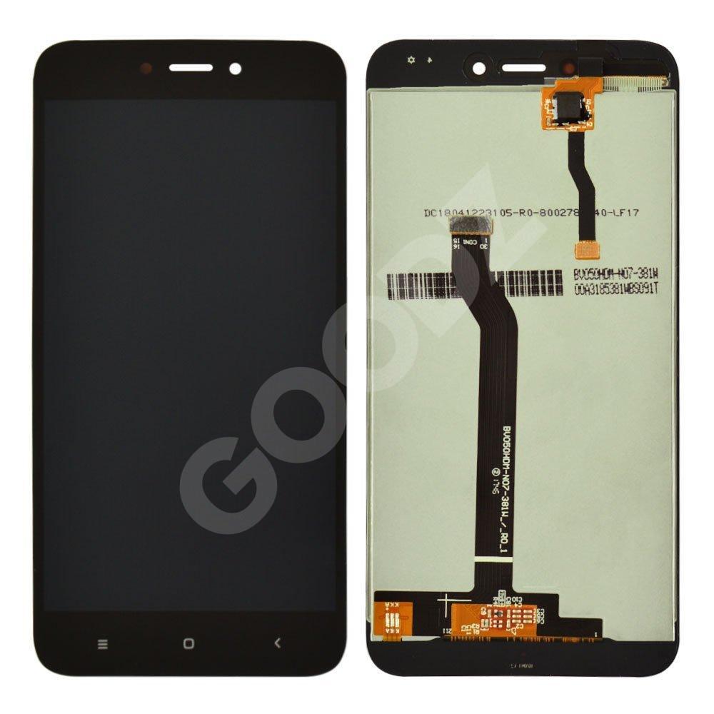 Дисплей для Xiaomi Redmi 5A с тачскрином в сборе, цвет черный, оригинал