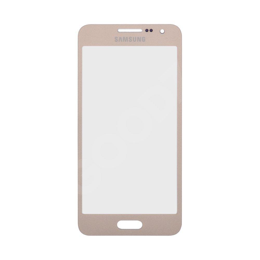 Стекло корпуса для Samsung A300F, 3500H, A300FU Galaxy A3 (2015), цвет золотой