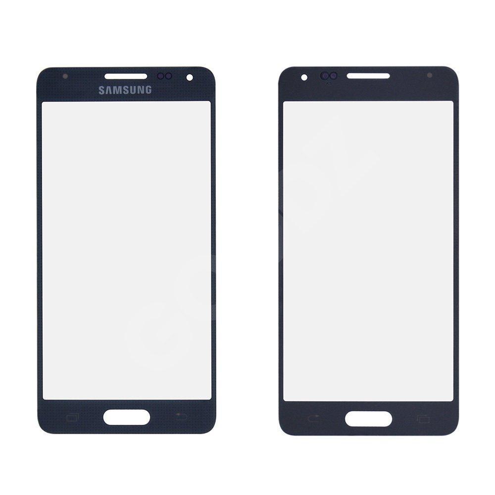 Стекло корпуса для Samsung G850F Galaxy Alpha, цвет черный