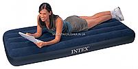 Матрас одноместный надувной Intex арт.68950. Матрас отлично подходит для отдыха на природе, моря, дома, фото 2