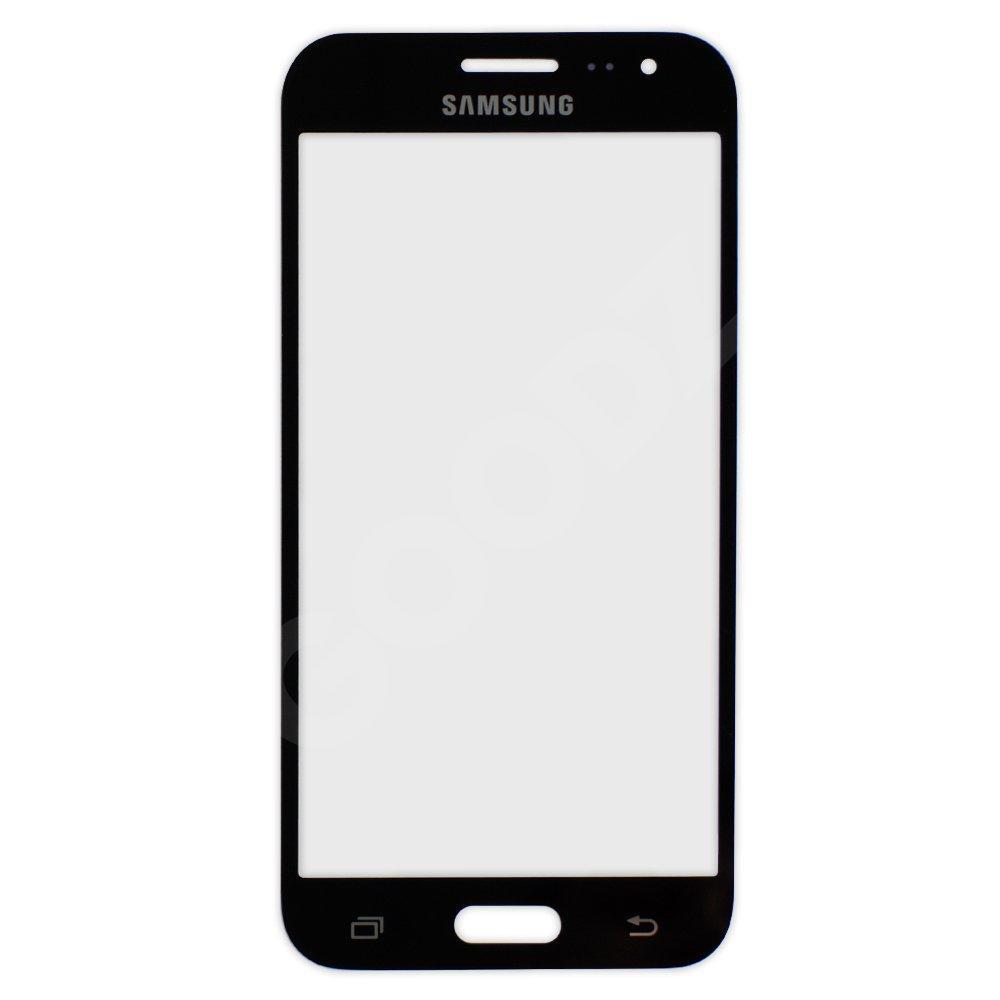 Стекло корпуса для Samsung J200, J200G, J200H, J200Y, J200F Galaxy J2, цвет черный