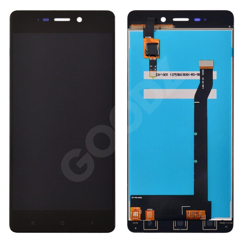 Дисплей Xiaomi Redmi 4 с тачскрином в сборе, цвет черный