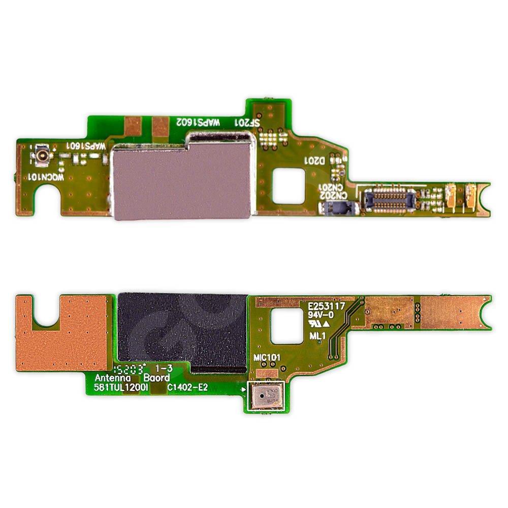 Шлейф Sony Xperia M4 E2303, E2353 с микрофоном и антенной