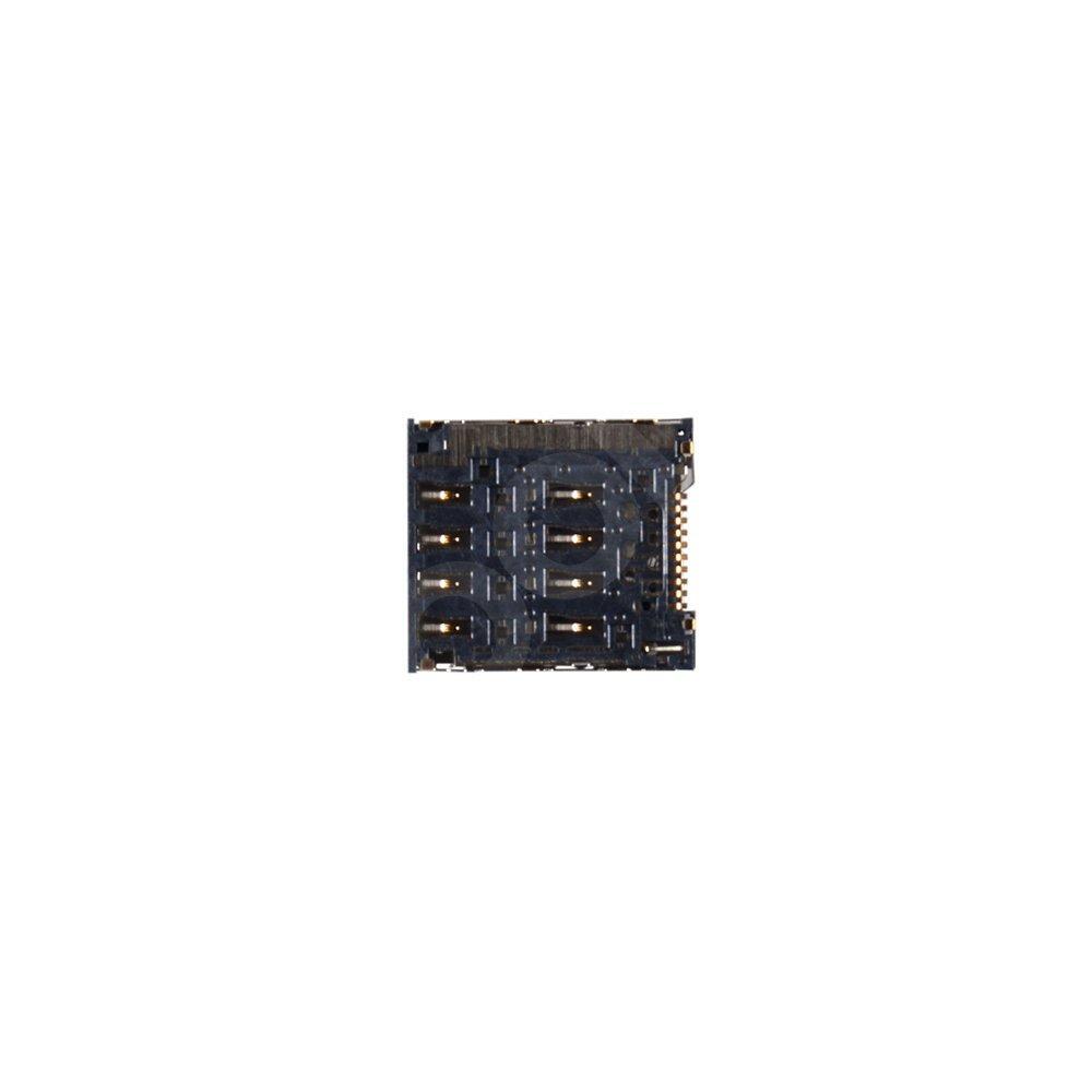 Разъем для сим карты Alcatel 6010D, 6030, 6033