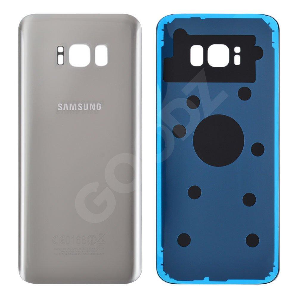 Задняя крышка для Samsung G955F Galaxy S8 Plus (2017), цвет серебро