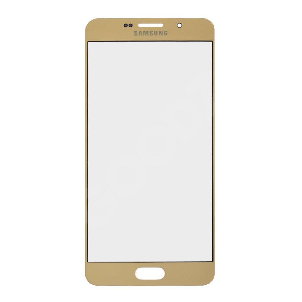 Стекло корпуса для Samsung A710 Galaxy A7 (2016), цвет золотой