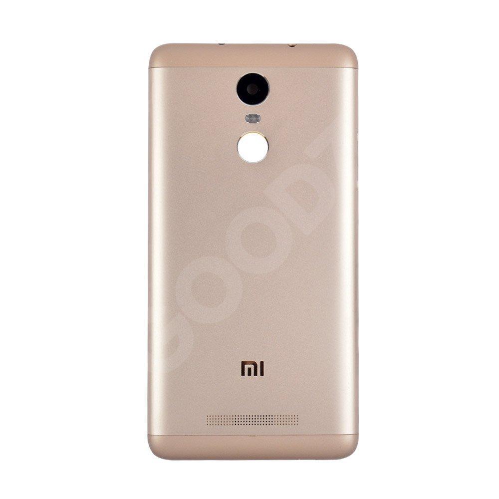 Задняя крышка для Xiaomi Redmi NOTE 3 Pro, цвет золотой