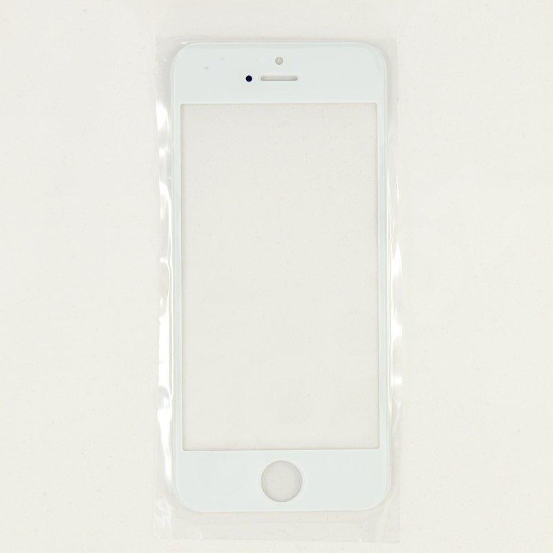 Стекло корпуса для iPhone 5G, 5S, 5C, цвет белый