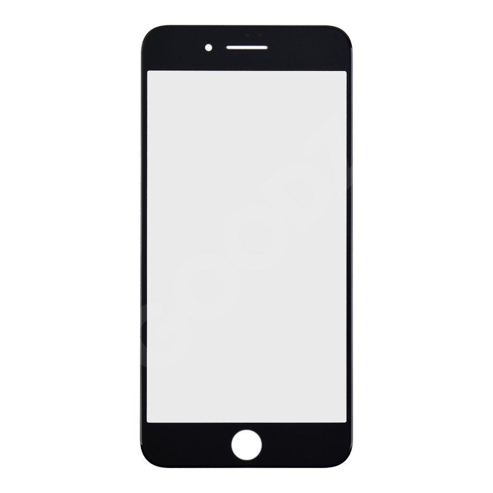 Стекло корпуса для iPhone 8 Plus, цвет черный