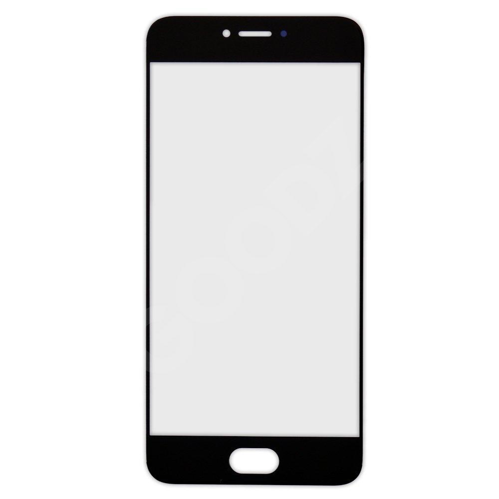 Стекло корпуса для Meizu Pro 6, цвет черный