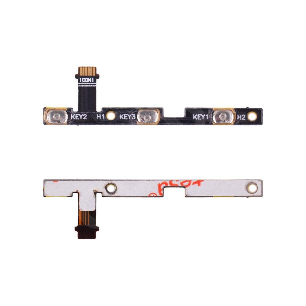 Шлейф для Asus ZenFone 3 Laser (ZC551KL) с кнопками включения и громкости