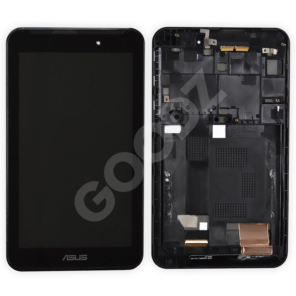 Дисплей Asus MeMO Pad 7 ME170, ME170c, FE170CG (K012, K017, K01A) с тачскрином и рамкой в сборе, цвет черный,