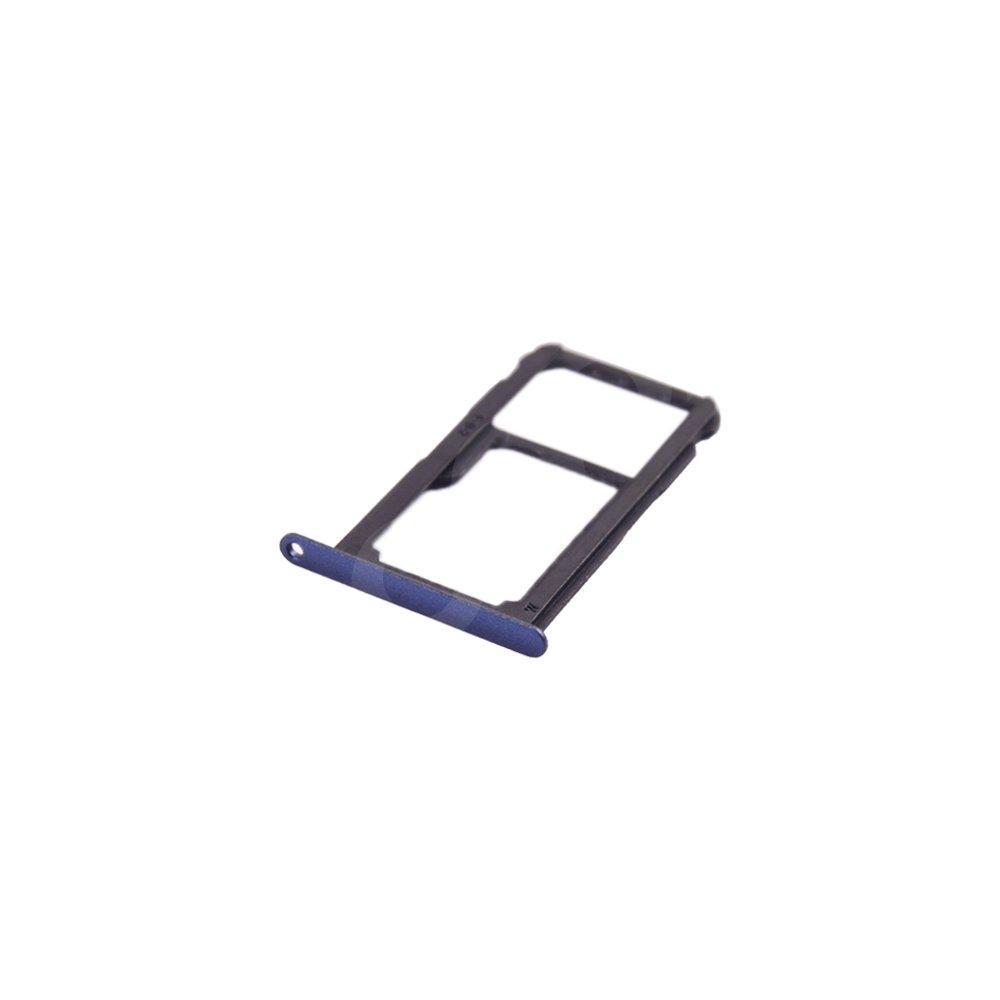 Держатель сим карты Huawei P10 Lite, цвет синий