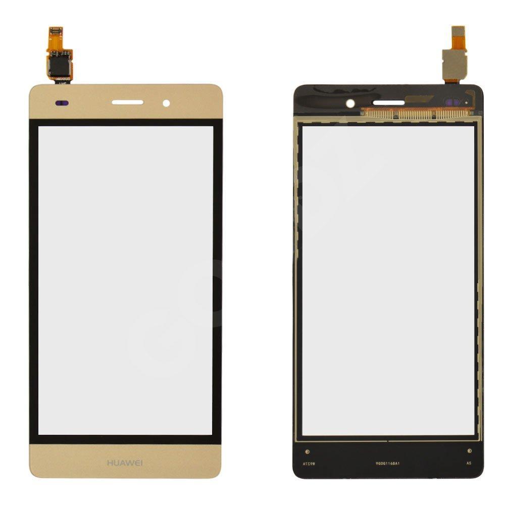 Тачскрин для Huawei P8 Lite (ALE L21), цвет золотой