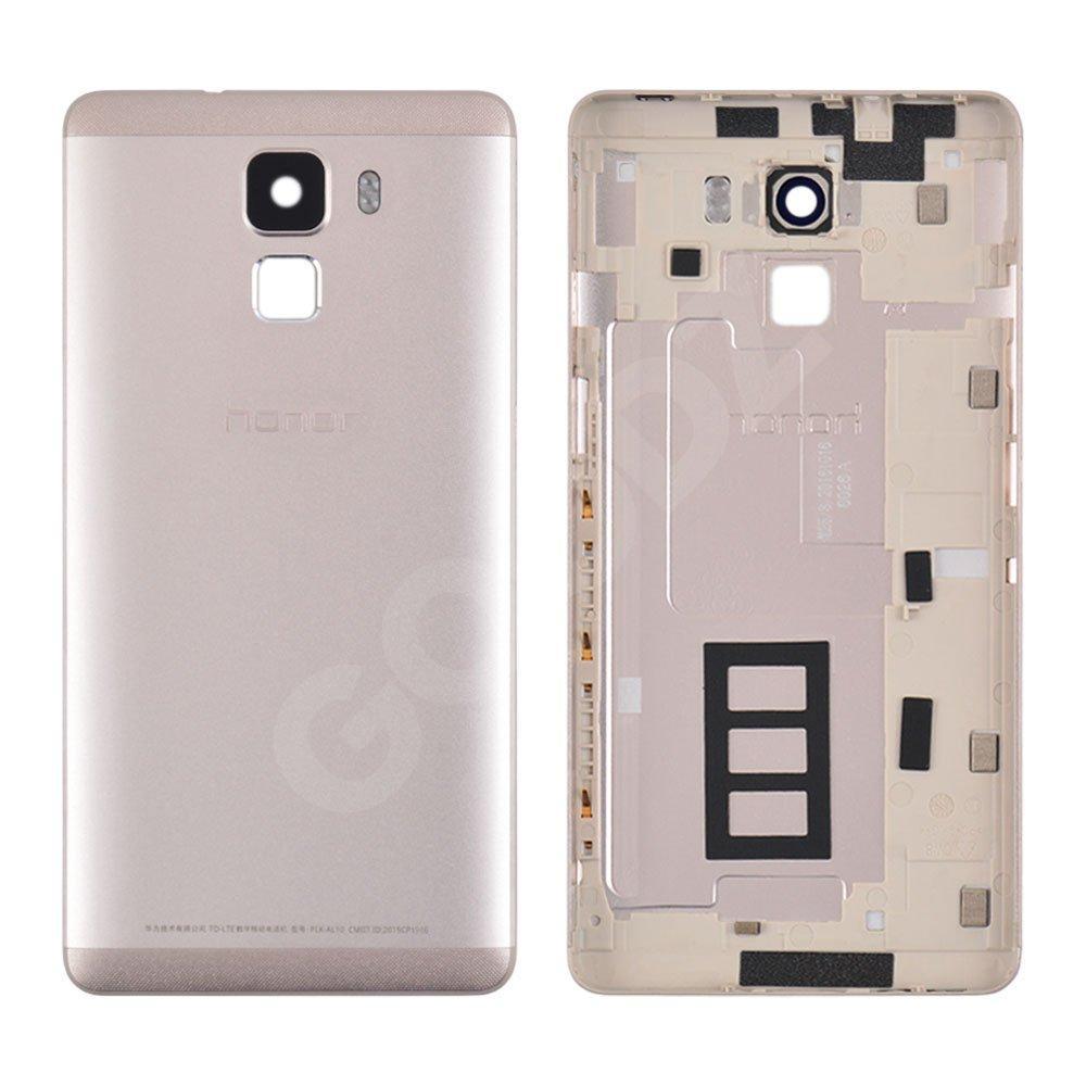 Задняя крышка для Huawei Honor 7 (PLK-L01), цвет золотой, оригинал