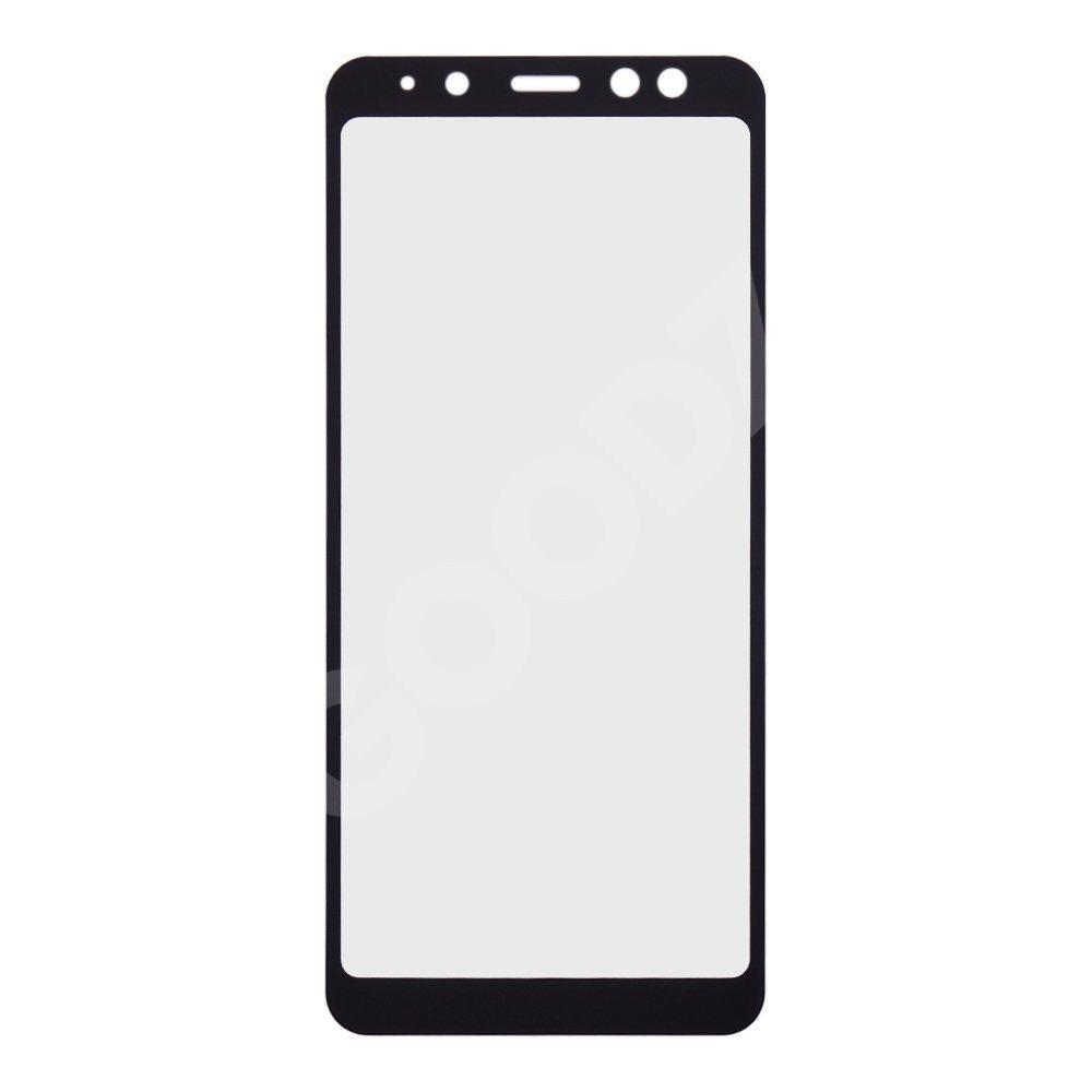 Защитное стекло для Samsung Galaxy A8 Plus A730 (2018) 3D, цвет черный