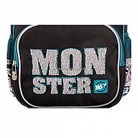 Рюкзак шкільний YES S-31 Monster чорно-синій (558200), фото 3