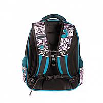 Рюкзак шкільний YES S-31 Monster чорно-синій (558200), фото 4