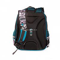 Рюкзак шкільний YES S-31 Monster чорно-синій (558200), фото 5