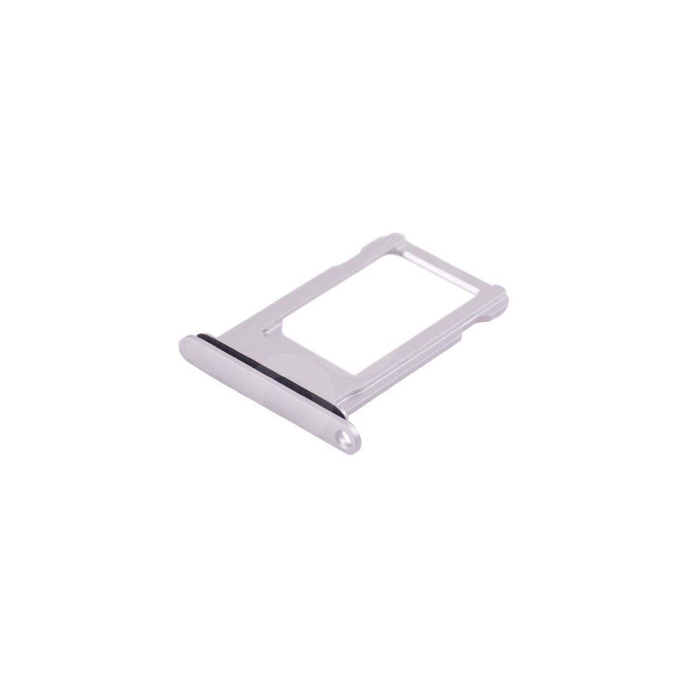 Держатель сим карты для iPhone 8, цвет серебро