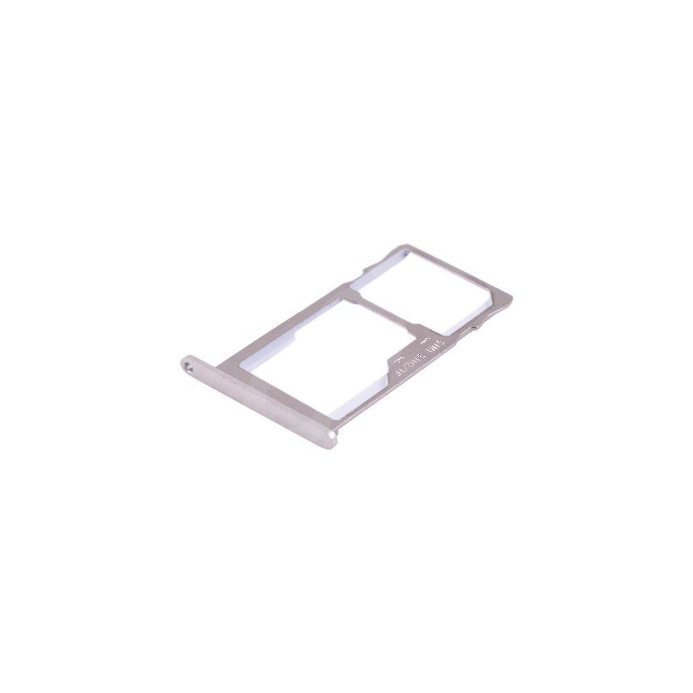 Держатель сим карты Meizu M3 Note, цвет серебро