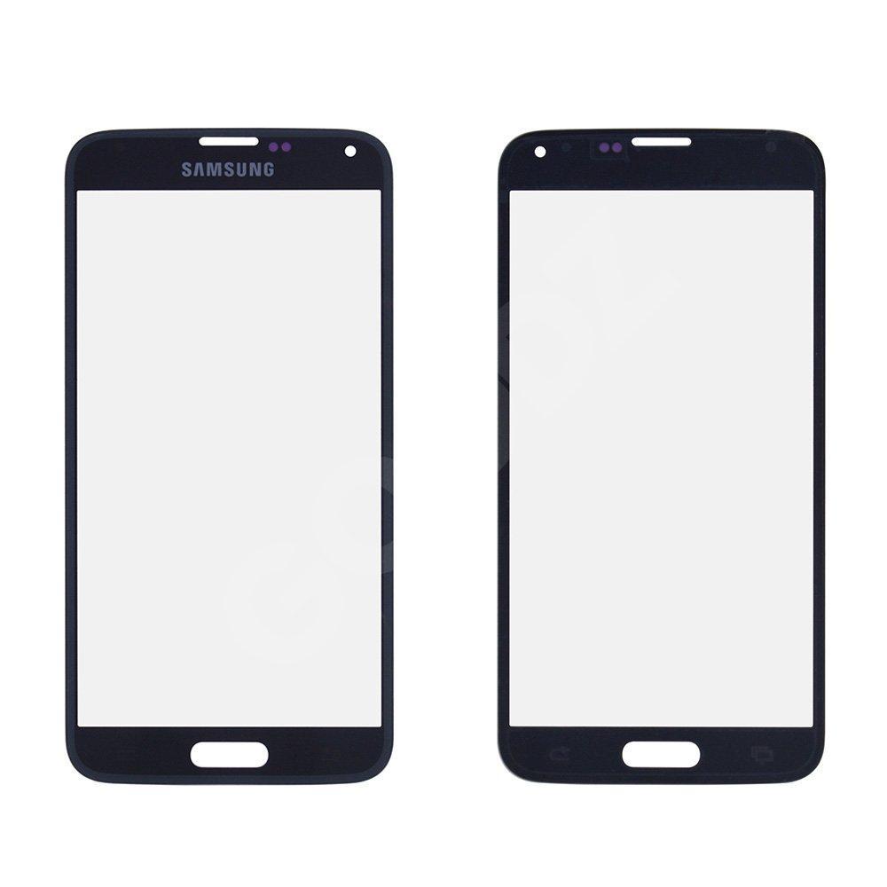 Стекло корпуса для Samsung G900 Galaxy S5, цвет черный