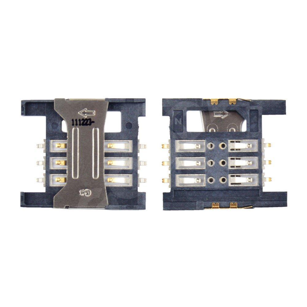 Разъем сим карты Lenovo A2207, A258T, A336, A660
