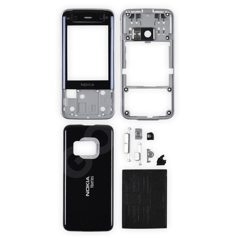 Корпус Nokia N81, цвет черный